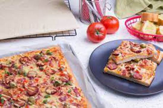 Pizza Sheets WHOLEMEAL 520gm (10 per carton) 300 x 380 COLLECTION ONLY