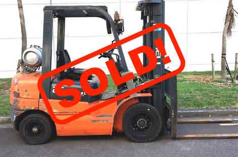 HELI CPQD25 LPG Forklift