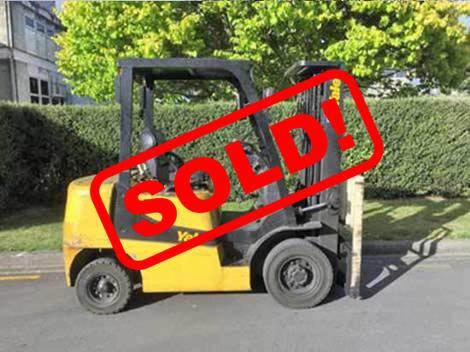 Used 2008 YALE GDP25TK Forklift for Sale