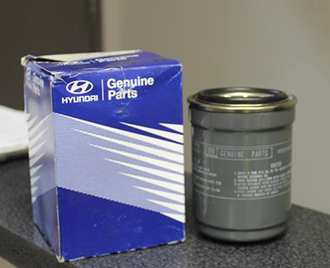 Hyundai Oil Filter