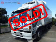 FUSO FV FV280U6 CAB AND CHASSIS 2007