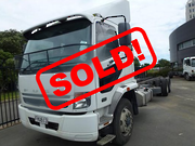 FUSO FU281UB 6X2 MEDIUM DUTY CAB