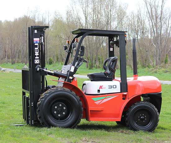 K-30-Rough Terrain forklift for sale
