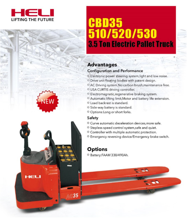 3.5 Ton Electric Pallet Truck