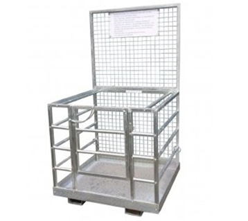 forklift safety man cage platform