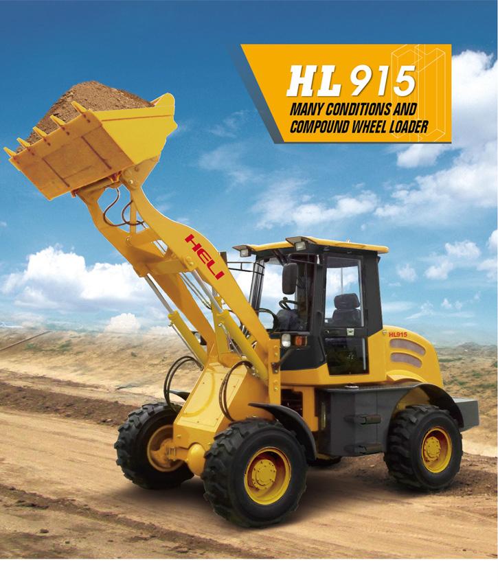 HL-915 wheel loader