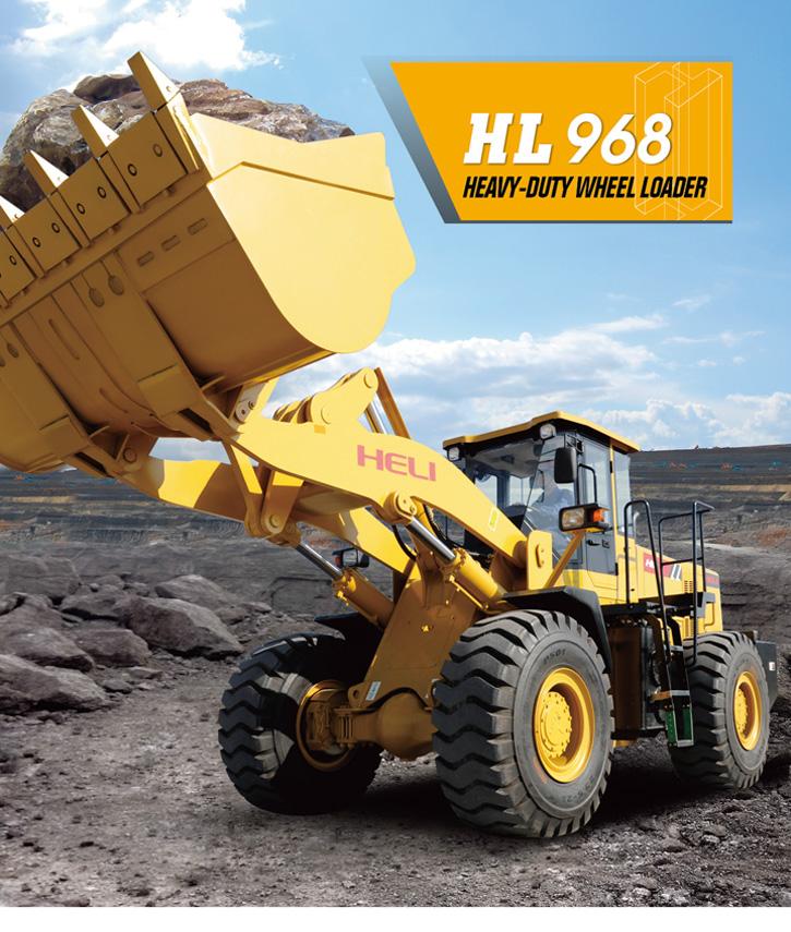HL-968 wheel loader