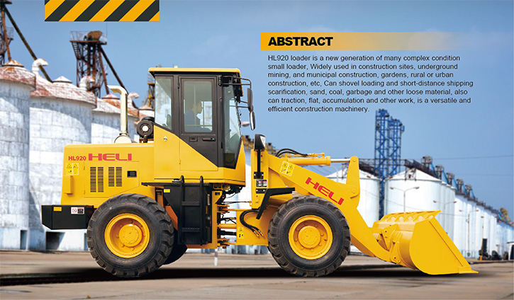 HL920 Heli Wheel Loader
