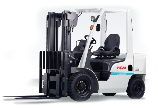 TCM petrol forklift dealers Wellington