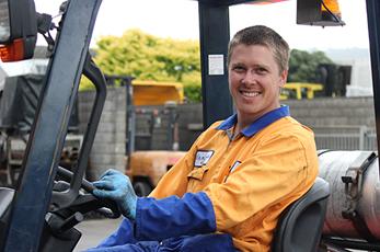 Joe Ross Technician at Central Forklift