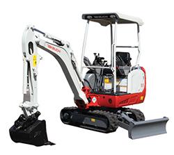 3-TB216-Compact Excavators
