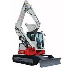 Compact Excavators TB280FR-5ton