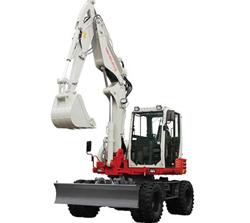 compact excavators-TB295W-5ton
