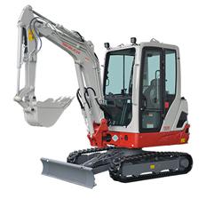 Mini compact excavators 6-TB225