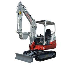 Mini Compact excavators 8-TB230
