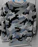Camouflage Sweatshirt 2-8yrs