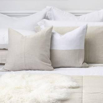 Natural Linen Cushion