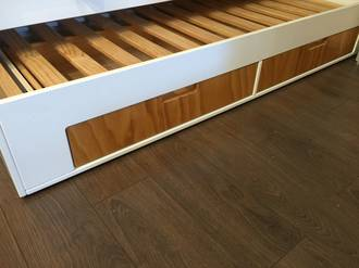 Trendy  Trundle with Drawers.