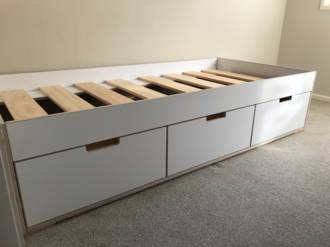 Urban Divan HPL PLY Bed with 3 Drawer