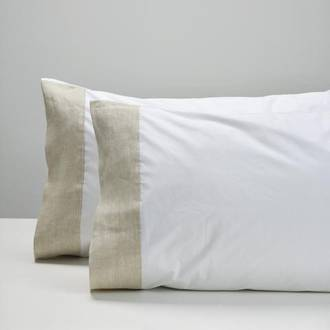 Natural Cuff Pillowcases