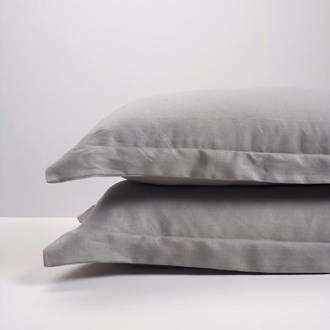 Smoke Linen Pillowcases
