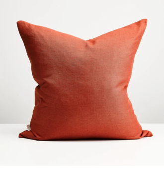 Brick  Linen Cushion