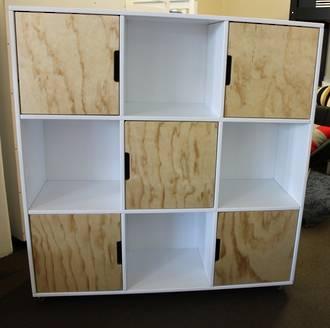 Trendy 9 Cube Bookcase