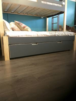 Devon HPL Ply Pull Out Bed One Side High
