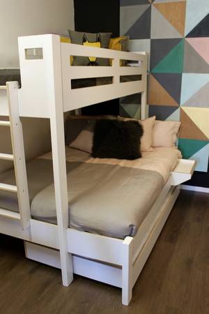 Devon Trio Bunk Bed End Entry