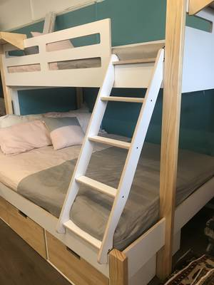 Devon Trio Bunk Bed Front Entry