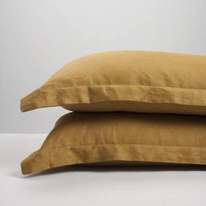 Cinnamon Linen Pillowcases
