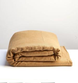 Cinnamon  Linen Duvet