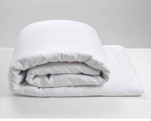 White   Linen Duvet