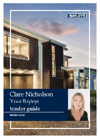A Guide to Tender - Clare Nicholson