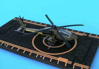 Hot Wings - AH-64 Apache Helicopter