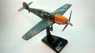 Model - Messerschmitt Bf-109. Classic Planes Series