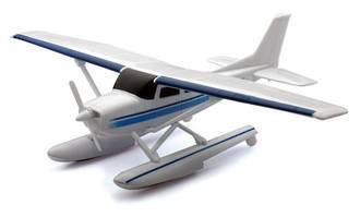 Model - Cessna 172 Skyhawk Floatplane. Classic Planes Series