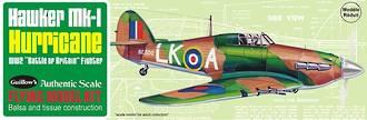 Hawker Mk1 Hurricane. Guillow's