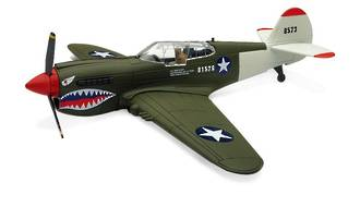Model - Curtiss P-40 Kittyhawk. Classic Planes Series