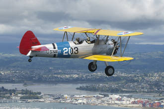 Flight Voucher - Boeing Stearman Biplane Scenic flight