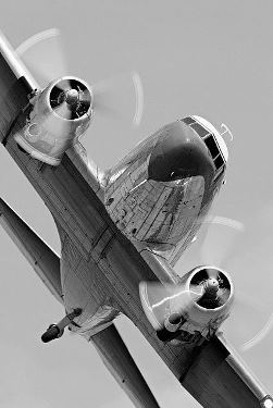 DC3 head on bank web