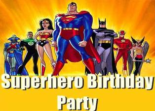 Super Hero Party logo sml