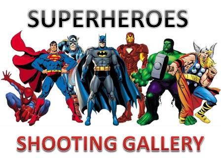 Superhero Shooting Gallery web
