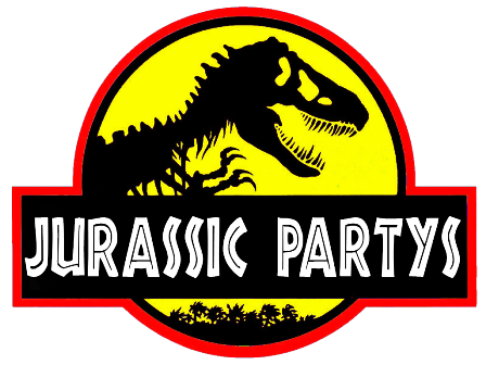 wallpaper Jurassic-Party-Logo web