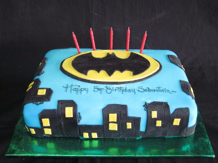 Cake Batman web
