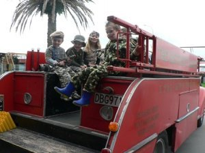 Fire Engine Ride kids sml