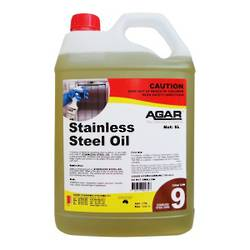 AGAR STAINLESS STEEL OIL 5L