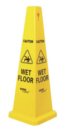 FLOOR SIGN CONE 690MM - SMALL