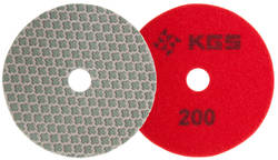 KGS SWIFLEX XX DISC - 100MM - RED 200 GRIT