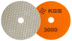 KGS SWIFLEX XX DISC - 100MM - ORANGE 3000 GRIT
